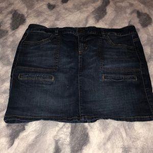 Tommy Hilfiger mini jean skirt w/ pockets size 14